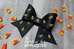 Candy Corn Cheer Bow BIG BOW project ITH